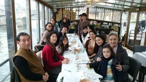 パリ支部新年会